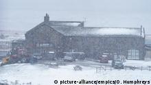 Großbritannien | Schnee in Yorkshire Dales