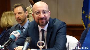 Λέγεται ότι ο πρόεδρος του Ευρωπαϊκού Συμβουλίου Σαρλ Μισέλ δέχεται πιέσεις από τις χώρες του Βίζεγκραντ