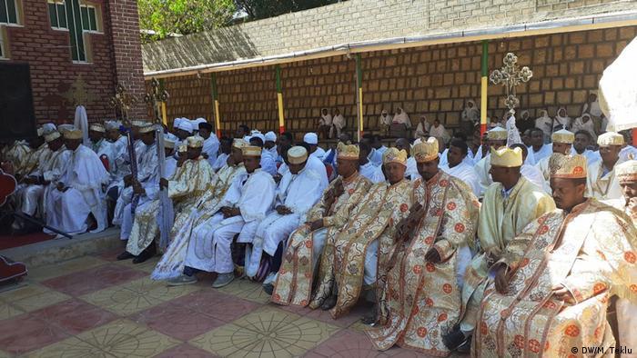 Äthiopien   Äthiopische Orthodoxe Kirche (DW/M. Teklu)