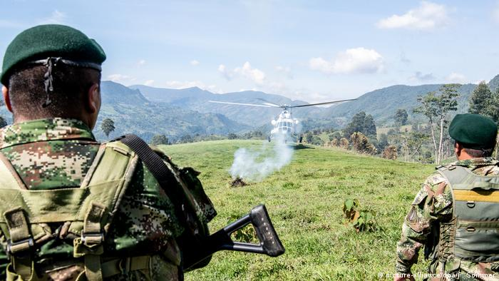 Kolumbien | Bundesaußenminister Maas landet in Icononzo