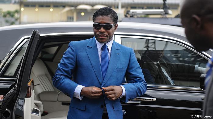 Frankreich Vizepräsident von Äquatorialguinea Teodorin Obiang in Paris wegen Korruption verurteilt