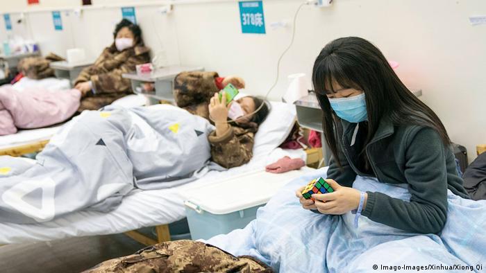 China Corona-Krankenhaus in Wuhan (Imago-Images/Xinhua/Xiong Qi)