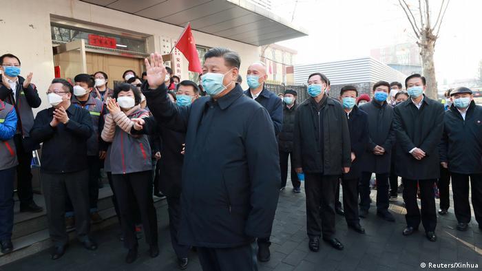 China Peking Besuch Präsident Xi Jinping