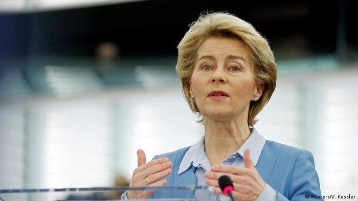 La inteligencia artificial no solo mejora nuestras vidas sino que la UE es líder en esa área, recalcó la presidenta de la CE, Ursula von der Leyen (archivo).