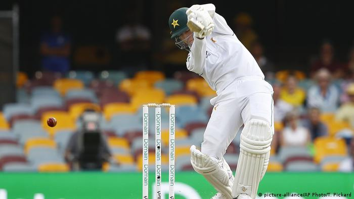 Cricket Naseem Shah (picture-alliance/AP Photo/T. Pickard)