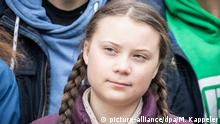 Swedish climate activist Gretha Thunberg (picture-alliance/dpa/M. Kappeler)
