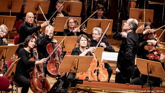 Концерт без публики в Кельне