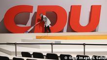 CDU Krise, Aufräumarbeiten Symbolbild