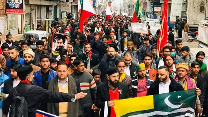 Pakistan | Demonstration Kaschmirische Nationalisten
