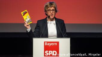 Лидер баварских социал-демократов Наташа Конен