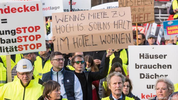 Deutschland | Proteste | Mieten