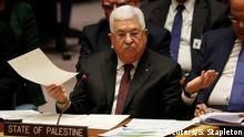 USA | Präsident Mahmoud Abbas | Sicherheitsrates der Vereinten Nationen in New York