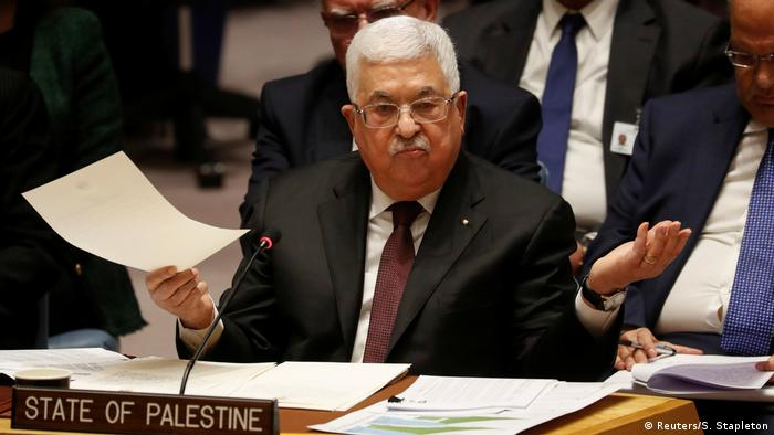 Palästinenserpräsident Abbas hält US-Nahost-Plan für Käse