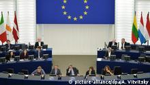 Frankreich Europäisches Parlament in Straßburg
