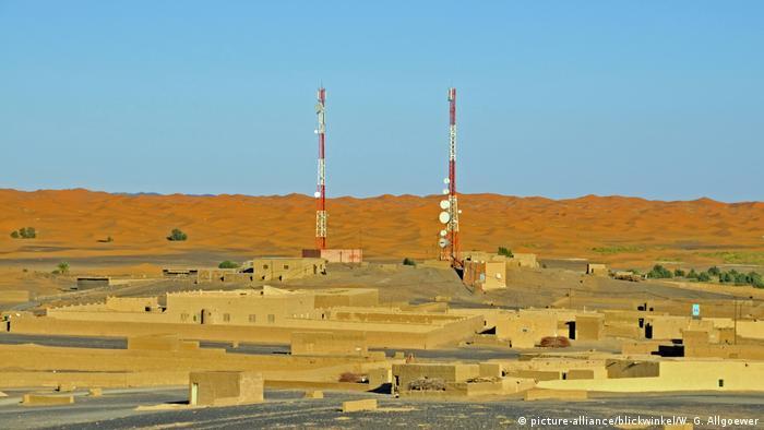 Sendemasten in Marokko