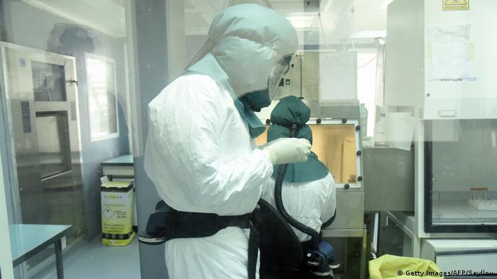 Afrika Senegal Coronavirus Pasteur Institute in Dakar