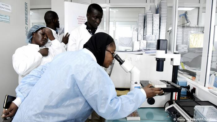 Afrika Senegal Coronavirus Pasteur Institute in Dakar (Getty Images/AFP/Seyllou)