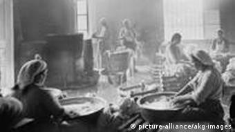 Wäscherinnen im 19. Jahrhundert