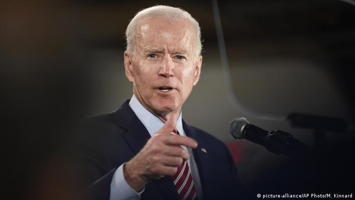 Vorwahlen in den USA - New Hampshire Joe Biden