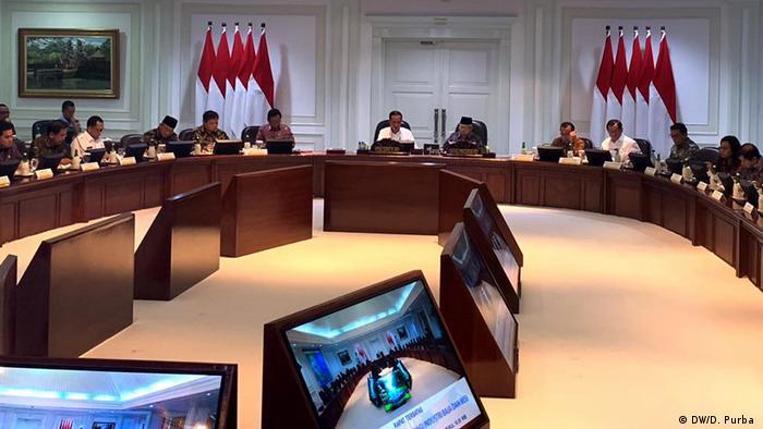 Indonesien Jakarta Joko Widodo Treffen Wirtschaft (DW/D. Purba )
