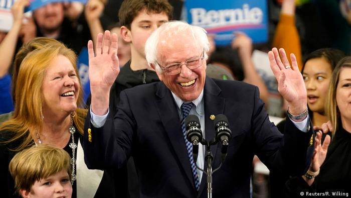 Vorwahlen in den USA - New Hampshire Bernie Sanders (Reuters/R. Wilking)