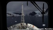 BG Antarktis Expedition Pinguine (Reuters/U. Marcelino)