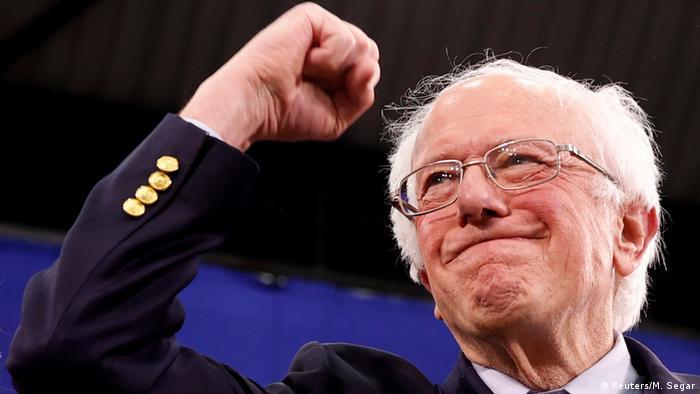 USA Vorwahl der Demokraten Bernie Sanders gewinnt in New Hampshire (Reuters/M. Segar)