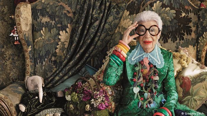 Модната икона Айрис Апфел – дизайнерка, интериорна архитектка, манекенка