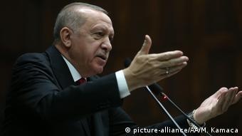 Τη δική του ατζέντα για τη Συρία έχει ο πρόεδρος Ερντογάν