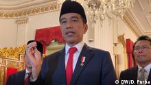Indonsien Präsident Joko Widodo