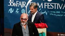 Fajr, das Iranische Filmfestival, Amir Aaghayi, iranischer Schauspieler. Quelle: Isna