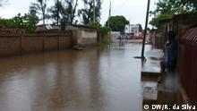 12.02.2020 Regenfälle überschwemmen Maputo, während Einschränkungen der Wasserversorgung die Stadt Matola und das Dorf Boane untergraben
