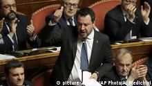 Italien Senat Ex-Innenminister Salvini
