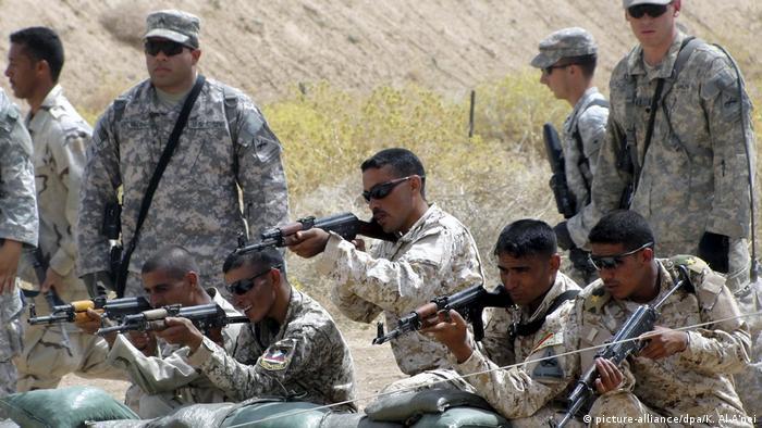 آموزش نظامی سربازان عراقی توسط ارتش آمریکا