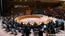This January 9, 2020, image obtained from the United Nations shows a general view of the Security Council meeting on maintenance of international peace and security and upholding the United Nations Charter. - The UN Security Council on Thursday reaffirmed its commitment to an international order based on international law amid fears of armed conflict between the United States and Iran. The 15 members said the Security Council reaffirms its commitment to the Charter of the United Nations, including the purposes and principles of the Charter, and an international order based on international law. (Photo by Mark GARTEN / UNITED NATIONS / AFP) / RESTRICTED TO EDITORIAL USE - MANDATORY CREDIT AFP PHOTO / UN / Mark GARTEN - NO MARKETING - NO ADVERTISING CAMPAIGNS - DISTRIBUTED AS A SERVICE TO CLIENTS