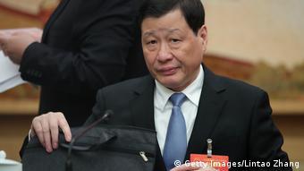 China Der Bürgermeister von Shanghai Ying Yong