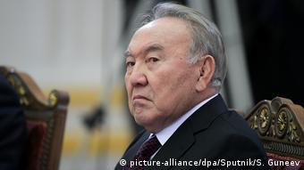 Экс-президент Казахстана Нурсултан Назарбаев