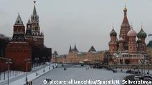 Russland Moskau im Winter