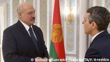 Weißrussland Ignazio Cassis trifft Alexander Lukaschenko