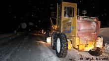 Schneefall in afghanischen Provinz Bamiyan