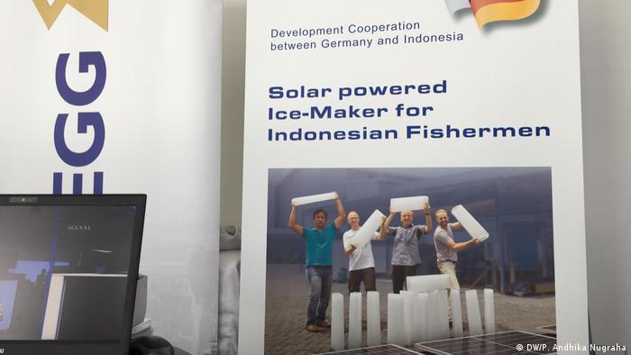 Proyek kerjasama Jerman-Indonesia untuk membangun mesin pembuat es tenaga surya