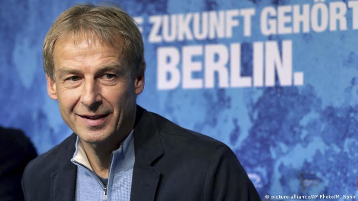 Bundesliga Hertha BSC   2019   Jürgen Klinsmann, Trainer (picture-alliance/AP Photo/M. Sohn)