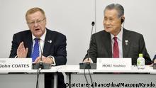 Japan Tokio | Internationales Olympisches Komitee | John Coates & Yoshiro Mori