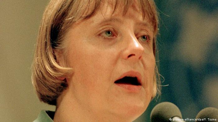 ميركل كانت وزيرة للبيئة في حكومة كول (مؤتمر كيوتو في اليابان (08.12.1997)