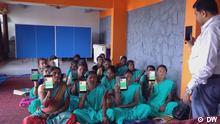 Global 3000 Serie Work Places Soziale Apps in Indien und Deutschland