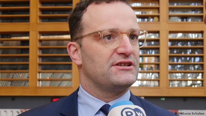 Jens Spahn Bundesgesundheitsminister CDU