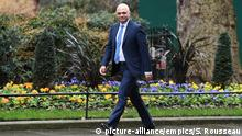 13.02.2020 *** Cabinet reshuffle. Chancellor of the Exchequer Sajid Javid arriving in Downing Street, London, as Prime Minister Boris Johnson reshuffles his Cabinet. Picture date: Thursday February 13, 2020. See PA story POLITICS Reshuffle. Photo credit should read: Stefan Rousseau/PA Wire URN:50305613 |