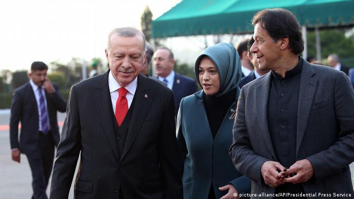Pakistan Islamabad Besuch Erdogan Präsident Türkei
