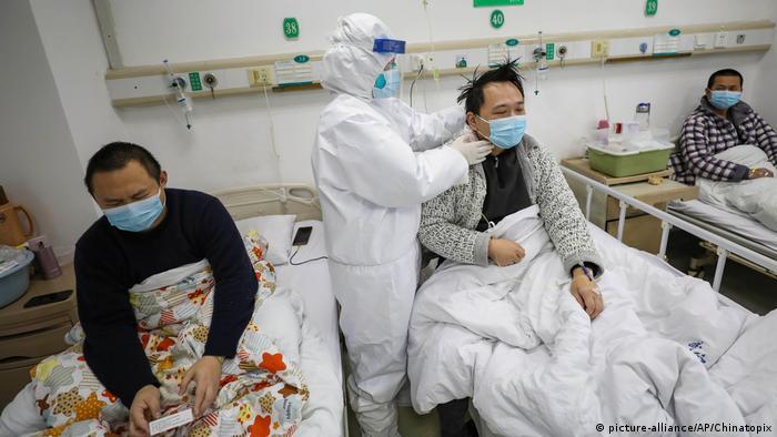 China Wuhan Jinyintan Hospital