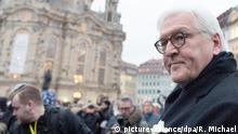 Deutschland 75. Jahrestag Zerstörung Dresden Bundespräsident Steinmeier